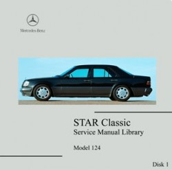 Mercedes Benz 124 workshop manual Eclass W124 320 300D turbo