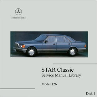Mercedes Benz 126 Workshop Manual W 126 300 SE 380 SEL 420 560