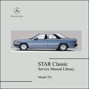 Mercedes Benz 201 workshop manual 190 D E turbo COSWORTH W 201
