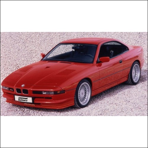 BMW Series 8 E31 Workshop Manual 840i 850Ci 850CSi