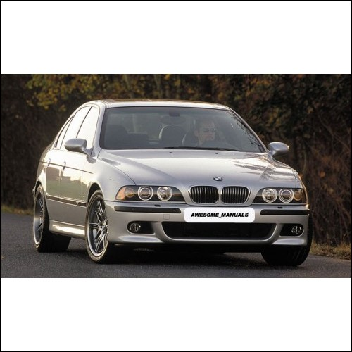BMW Series 5 E34 E39 E53 E60 E61 Workshop Manual 518 520 525 540