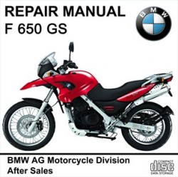 BMW F650GS workshop manual motorcycle F 650 GS