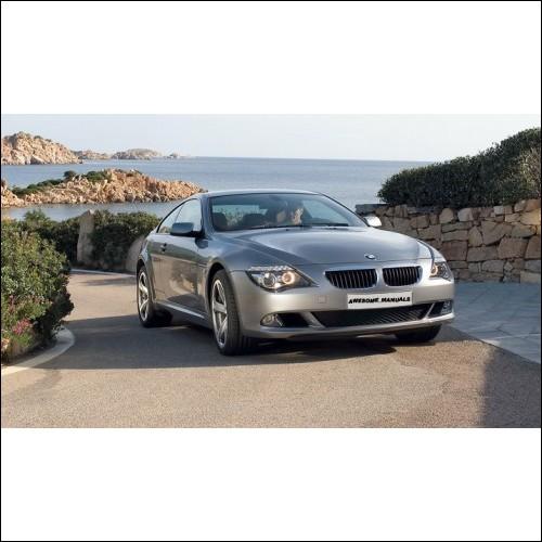 BMW Series 6 E64 E64 Workshop Manual 630Ci 645Ci