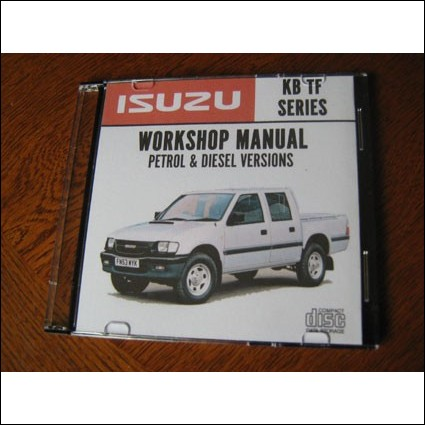 Isuzu KB TF Car Workshop Repair Service Manual 1998 - 2002