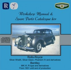 Bentley MKVI, R type & derivatives Workshop Manual