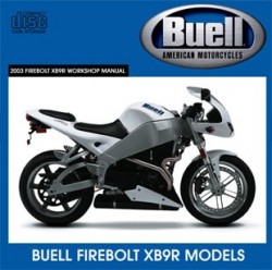 Buell Motorcycles Firebolt XB9R Workshop Manual 2003