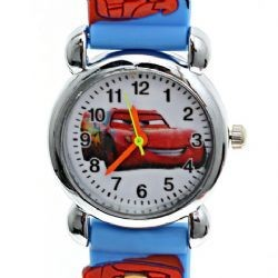 Car Cartoon Picture Wrist Watch