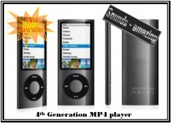 4GB 4th Generation MP4 Player(20pc/lot)