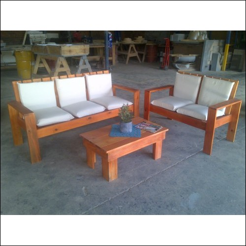 patio set with cushions